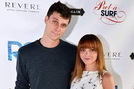 Christina Ricci with her ex-husband James