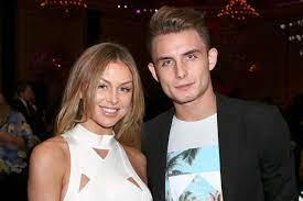 Lala Kent with her ex-boyfriend James