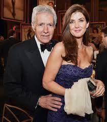 Alex Trebek with his wife Jean