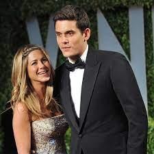 John Mayer with his ex-girlfriend Jennifer