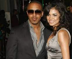 Marques Houston with his ex-girlfriend Jennifer
