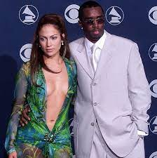 Sean Combs with his ex-girlfriend Jennifer