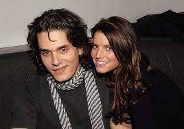 John Mayer with his ex-girlfriend Jessica