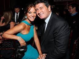 Eva LaRue with her ex-husband Joe