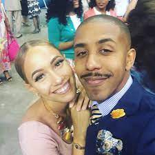 Marques Houston with his ex-girlfriend Marlena