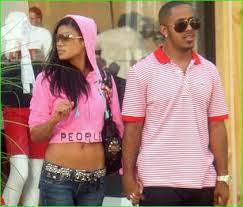 Marques Houston with his ex-girlfriend Mila