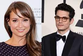 John Mayer & Milana Vayntrub