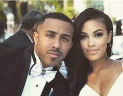 Marques Houston with his wife Miyana
