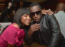 Sean Combs with his ex-girlfriend Naomi