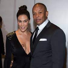 Dr. Dre with his ex-wife Nicole