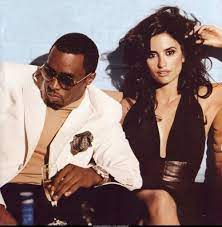 Sean Combs with his ex-girlfriend Penélope