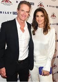 Cindy Crawford with her husband Rande