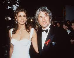 Cindy Crawford with her ex-husband Richard
