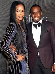 Kim Porter with her ex-boyfriend Sean