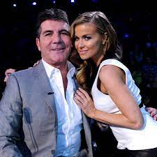 Carmen Electra with her ex-boyfriend Simon
