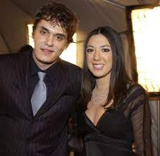 John Mayer with his ex-girlfriend Vanessa