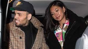 Ammika Harris with her boyfriend