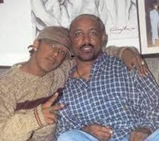 Marques Houston with his father