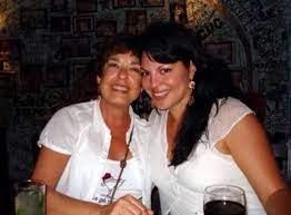 Sara Ramirez with her mother