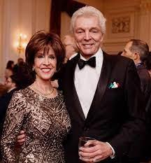 Deana Martin with her husband