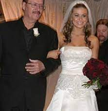 Carmen Electra with her father