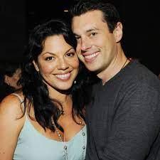 Sara Ramirez with her husband