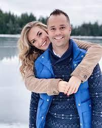 Wesley Chapman with his wife