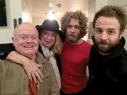 Taylor Goldsmith with his family