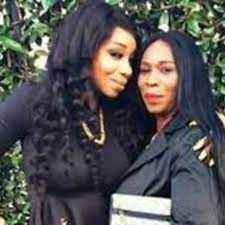 Tiffany Pollard with her mother