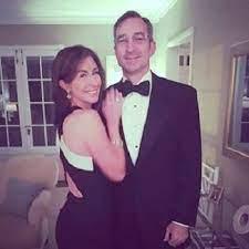 Mary Bubala with her husband