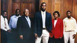 Myron Rolle with his family