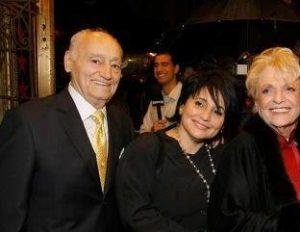Joan Grande with her parents