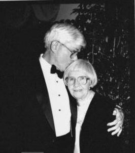 Phil Donahue with his mother