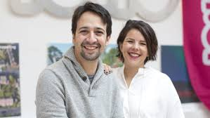 Vanessa Nadal with her husband