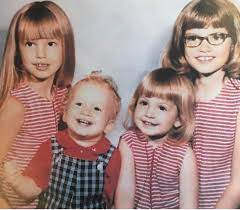 Cindy Crawford with her brother & sisters