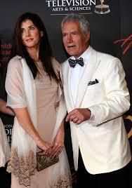 Jean Currivan Trebek with her husband
