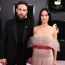 Kacey Musgraves with her husband