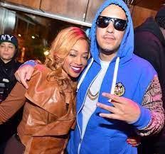 Trina rapper with her ex-boyfriend French