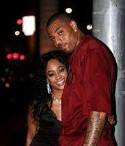 Trina rapper with her ex-boyfriend Kenyon