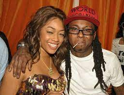 Trina rapper with her ex-fiance Lil