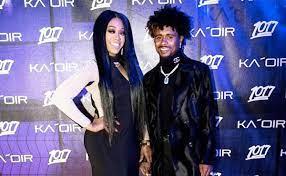 Trina rapper with her ex-boyfriend Raymond