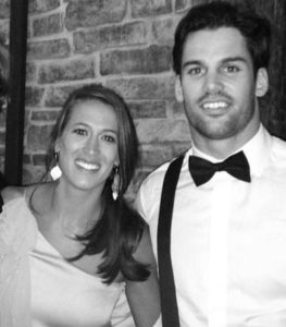 Eric Decker with his sister