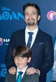 Lin-Manuel Miranda with his son Sebastian