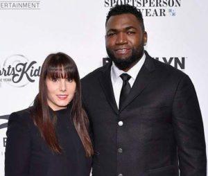 David Ortiz with his wife