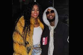 Trina rapper with her ex-boyfriend Tory
