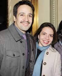 Lin-Manuel Miranda with his sister