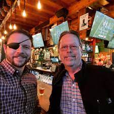 Dan Crenshaw with his father