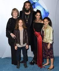 Lola Iolani Momoa with her family