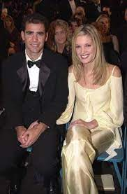 Pete Sampras with his wife