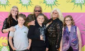 Beth Chapman with her husband & children